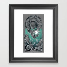 The Bird Keeper Framed Art Print