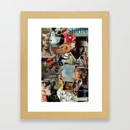 Shades of Meaning Framed Art Print