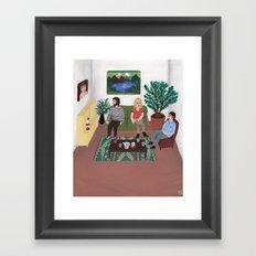 The Callgirl Framed Art Print