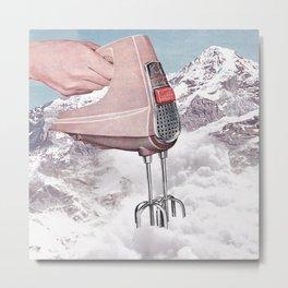 Doris Whisker - Avalanche whipped cream Metal Print
