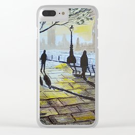 South Bank Shade, London Clear iPhone Case