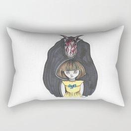 Fran Bow Rectangular Pillow