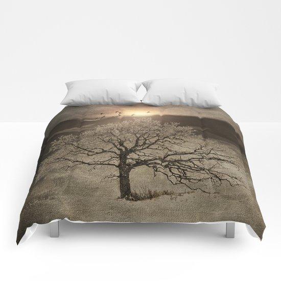 Sunset III Comforters