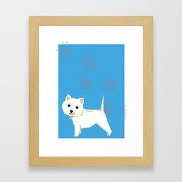Coco Scottish terrier Framed Art Print