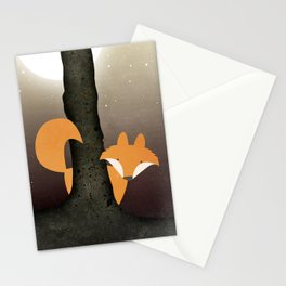The Forest Fox Stationery Cards