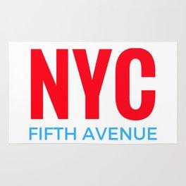 NYC Fifth Avenue Rug