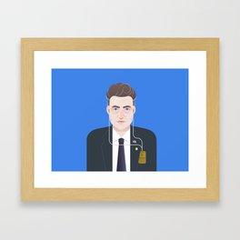 Gordon Cole | Twin Peaks Framed Art Print