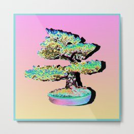 Healthy Bonsai Metal Print
