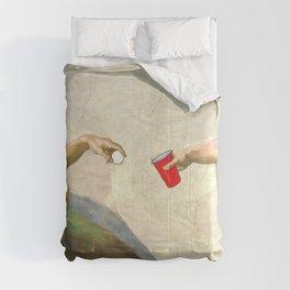Sistine of Beer Pong Comforters