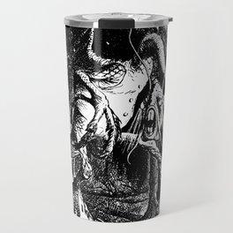 Jabberwocky Illustration from Alice in Wonderland Transparent Background Travel Mug
