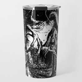 Jabberwocky Illustration from Alice in Wonderland Transparent Background Travel Mug