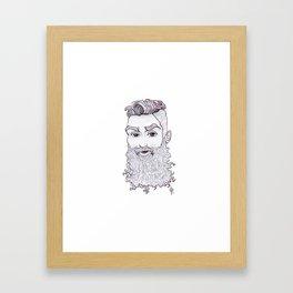 BeardLove Framed Art Print