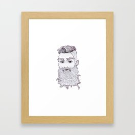 BeardLove Framed Art Print