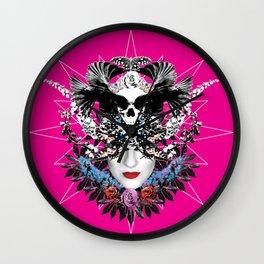 Angles and Demons Wall Clock