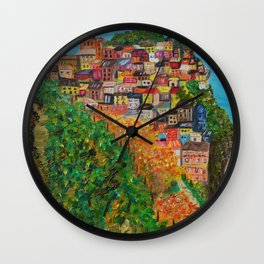 Dreams of Italy Wall Clock