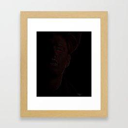 Demon Dean Framed Art Print