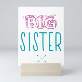 Big Sister Announcement Little Mini Art Print