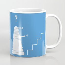 The problem with Daleks. Coffee Mug