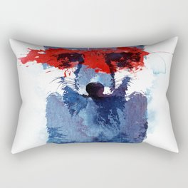 The last superhero Rectangular Pillow