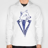 mr fox Hoodies featuring MR. FOX by Sagara Hirsch