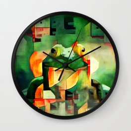 Ree Deep Rock Wall Clock