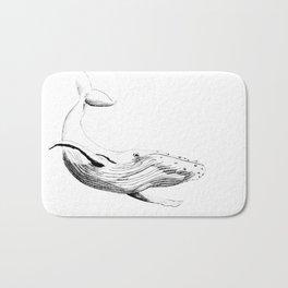 Humpback Whale Bath Mat