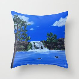 Morning Waters Throw Pillow