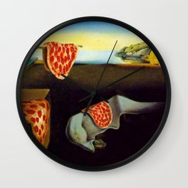 The Persistence of Hunger Wall Clock