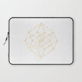golden line . pink decorative art prints for living rooms, Wallpaper Laptop Sleeve