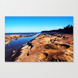Perspective Rocks Canvas Print