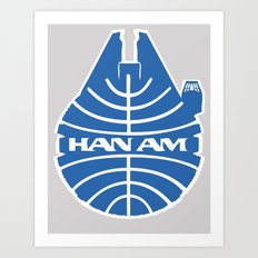 Han-Am Art Print