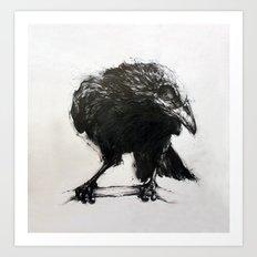 Presager of Death Art Print