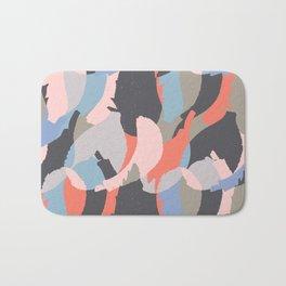Modern abstract print Bath Mat