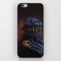 cookie monster iPhone & iPod Skins featuring Cookie Monster by Adrián Retana