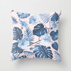 Getting Tropical Throw Pillow