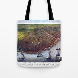 NEW ORLEANS LOUISIANA Tote Bag