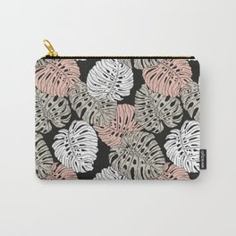 Monstera in the darkness of the jungle Carry-All Pouch