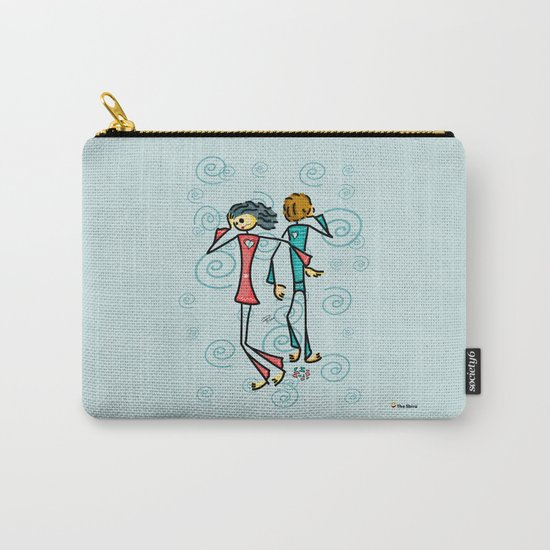 Broken Lovers Carry-All Pouch