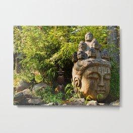 zen inspired Metal Print