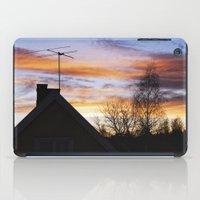 swedish iPad Cases featuring Swedish Sunset by Matthew Phillips