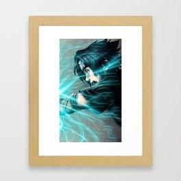 Chidori Framed Art Print