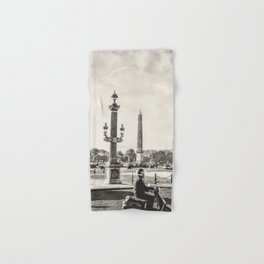 Paris Watercolour VIII Hand & Bath Towel