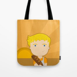 The boy with the bread Tote Bag