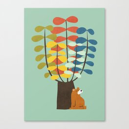 Shady Tree Canvas Print