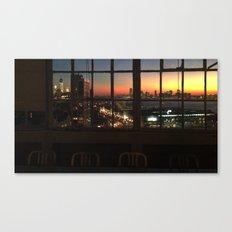 NY Sunset Series 1 Canvas Print