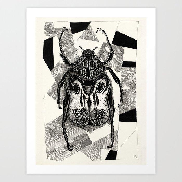Doodle Beetle Kunstdrucke