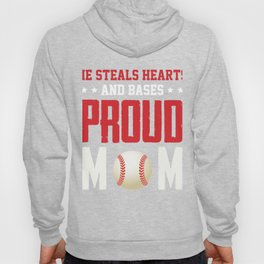 Awesome Gift For Mom. Baseball T-Shirt Hoody