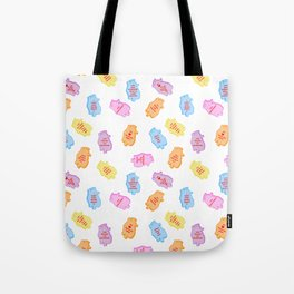 poe conversation hearts Tote Bag