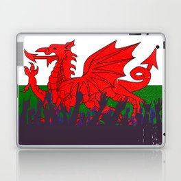 Welsh Flag with Audience Laptop & iPad Skin
