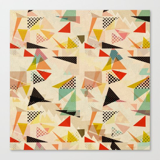 between shapes Canvas Print